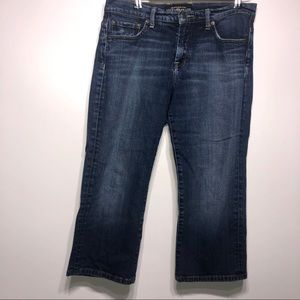 Lucky Brand Firefly Easy Rider Cropped Jeans